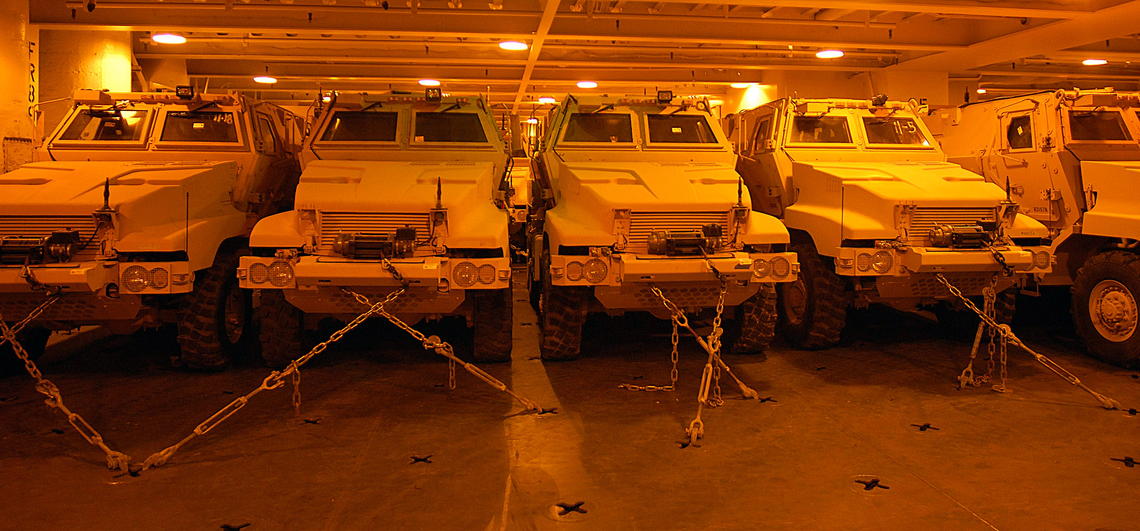 MRAPs On the Way Out