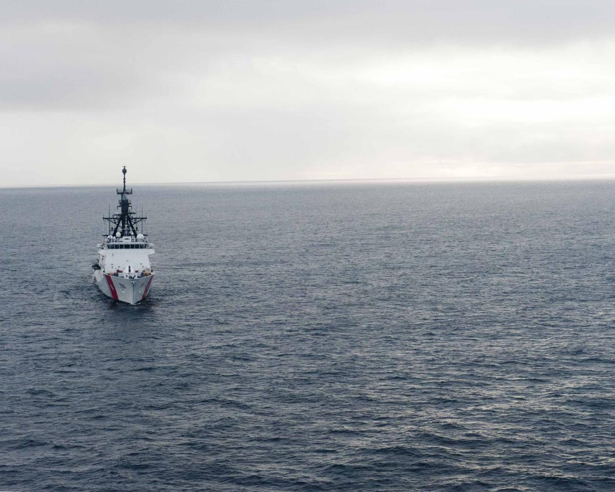 USCG's Adm. Papp on Arctic Operations and Caribbean Drug Runners