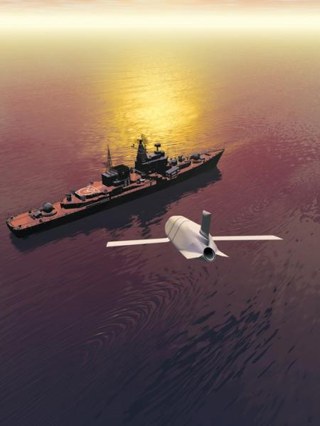 Naval Systems: Antiship Missile Moves Toward Flight Test