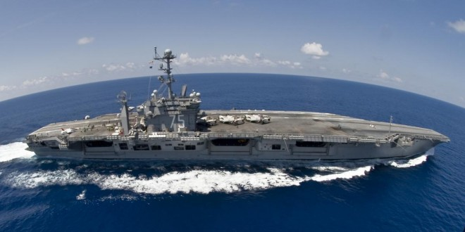 USS Harry S. Truman underway in the Atlantic on Sept. 5, U.S. Navy Photo