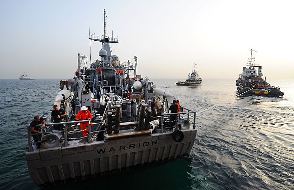 Arabian Gulf Mine Exercise is Needed Practice for U.S.