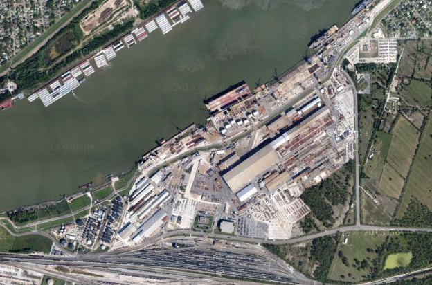HII Closes Sale of Shuttered Avondale Shipyard