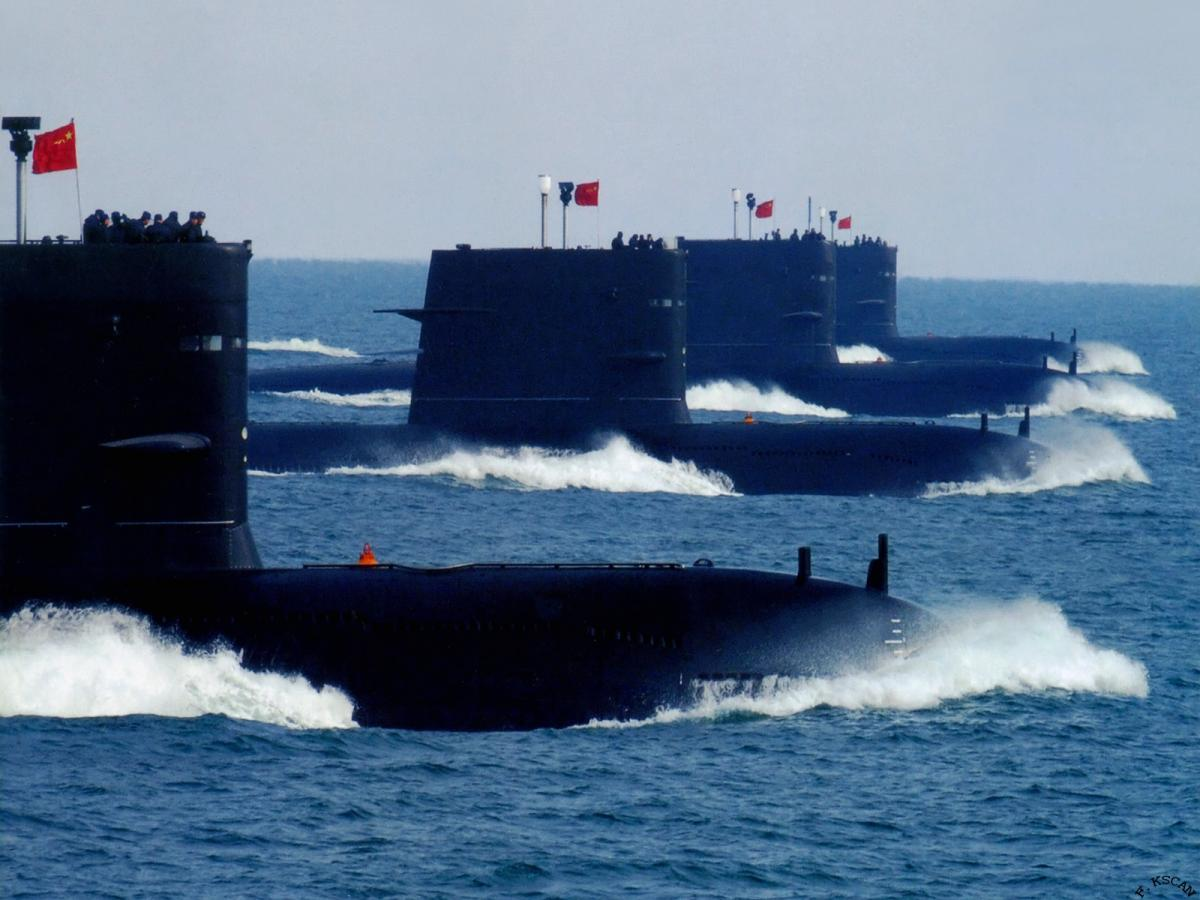 Song-class submarines of China's People's Liberation Army Navy (PLAN).