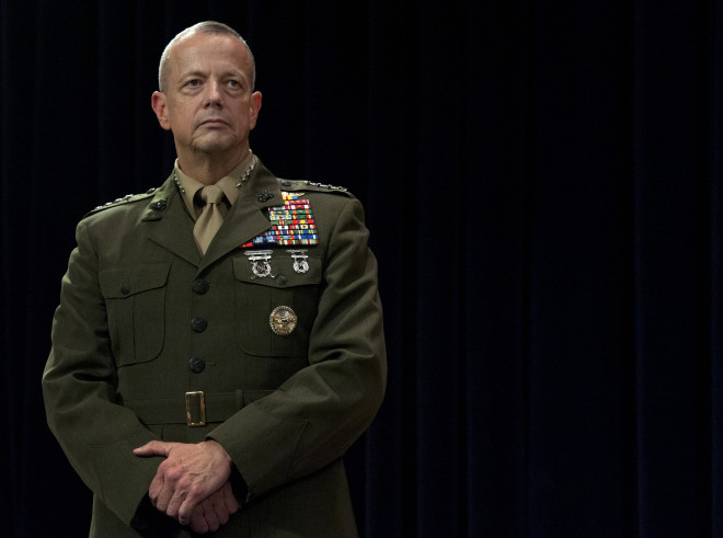 Statement from President: Gen. John Allen to Retire