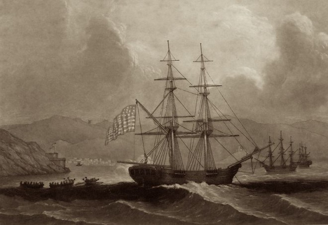 Ships Named For Lincoln and Washington
