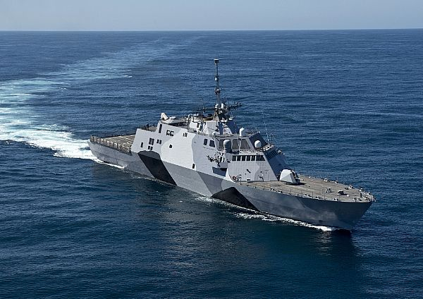 LCS CO: Freedom is 'A Mean Looking Ship'