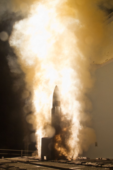 Destroyer Shoots Down Missile in Successful Joint Ballistic Missile Defense Test
