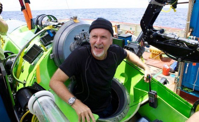 James Cameron Gives Record Breaking Sub to Woods Hole
