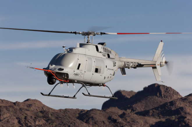 Northrop Wins Contract for Next Generation Fire Scout