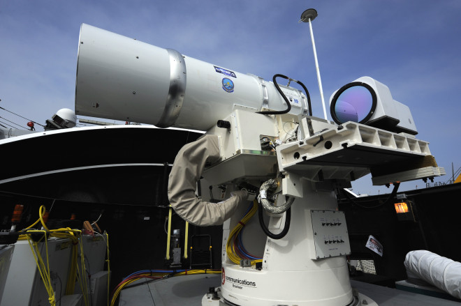 Navy to Deploy Anti-UAV, Small Boat Laser Next Year to Gulf