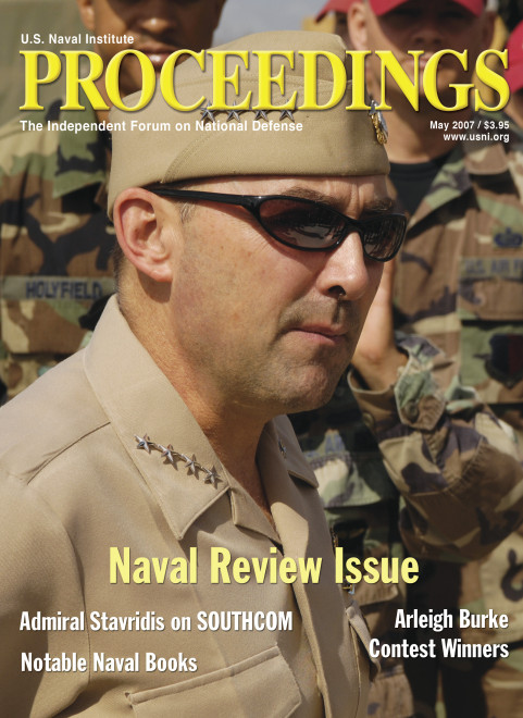 Release: Naval Institute Appoints Admiral James G. Stavridis Chair of the Board