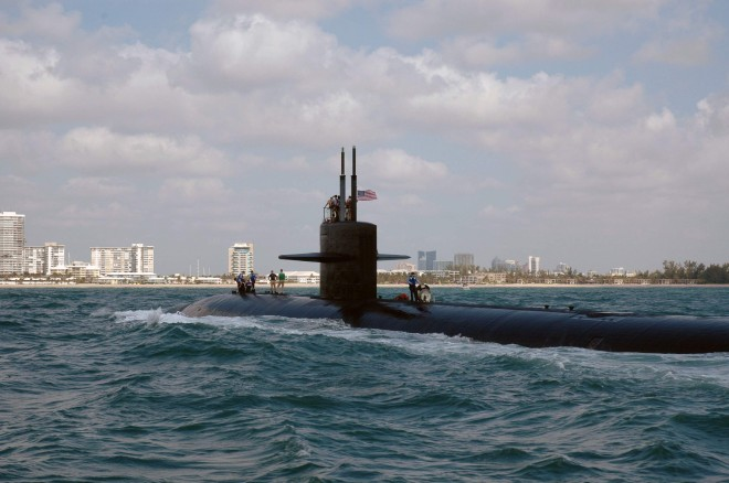 USS Pittsburgh (SSN-720) underway. US Navy