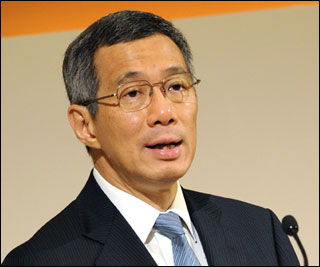 Singapore Prime Minister Lee Hsien Loong
