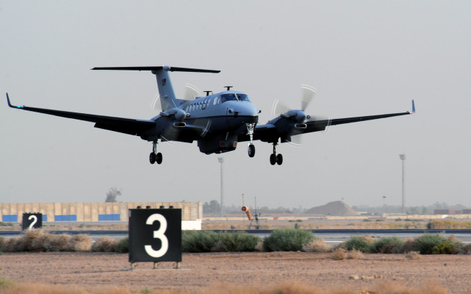 U.S. Spy Plane Down in Afghanistan, Kills Four Airmen
