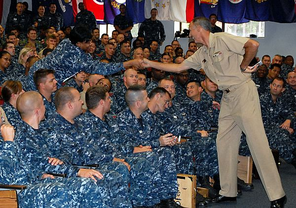 Navy Filling Personnel Gaps