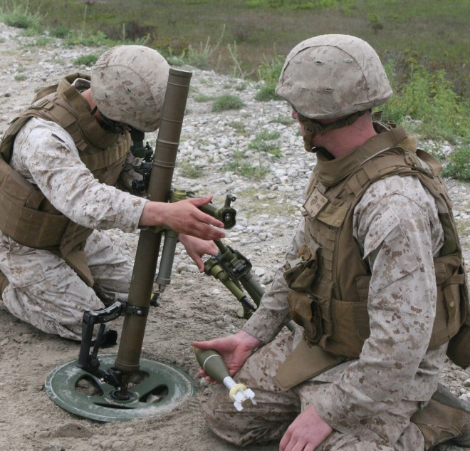 'Human Error' Blamed in Mortar Accident that Killed Seven Marines