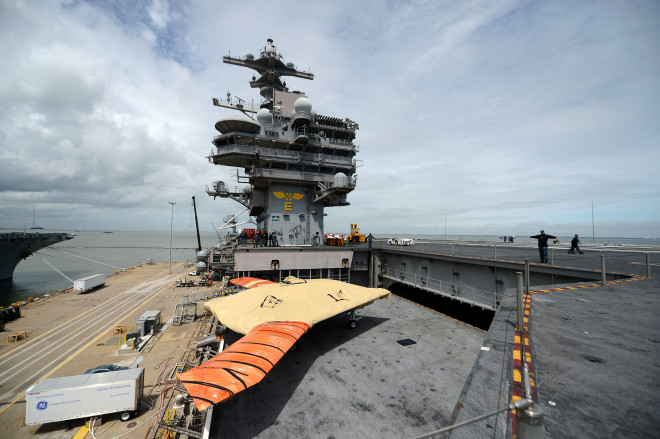 Navy Plans to Launch Carrier UAV Next Tuesday