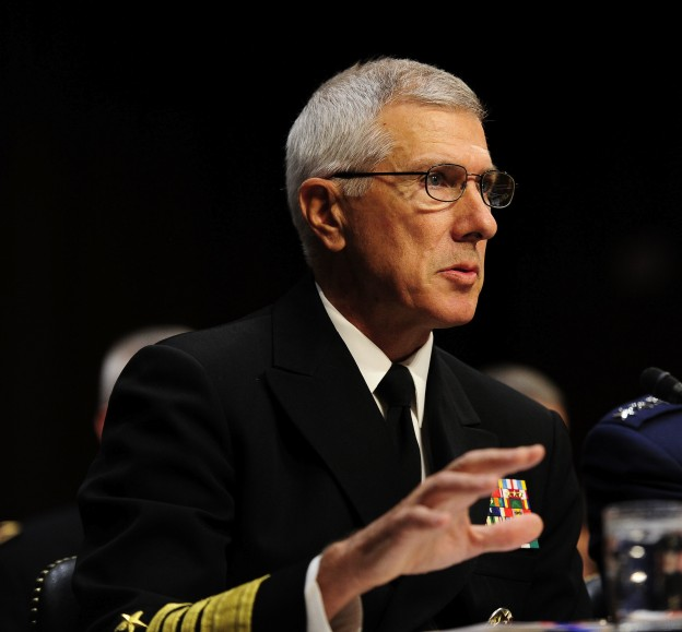 Adm. Samuel J. Locklear III, commander of US Pacific Command in 2012. US Navy Photo