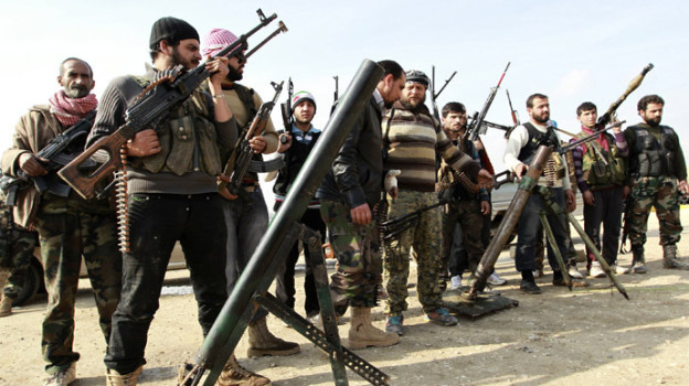 Free Syrian Army fighters. Reuters Photo