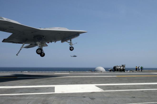 NAVAIR: X-47B Fails Fourth Trap Attempt