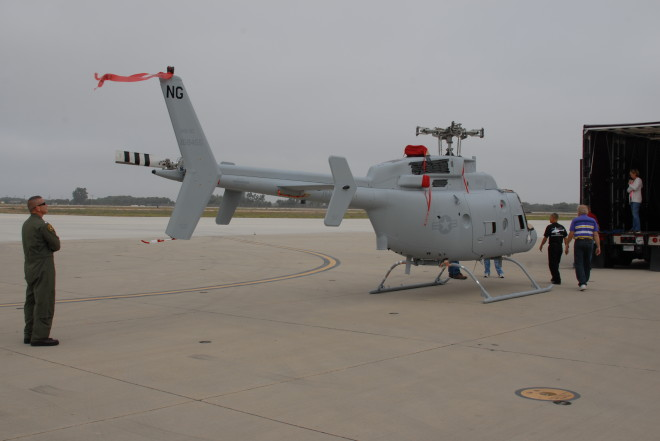 Navy Takes Delivery of Next Generation Fire Scout