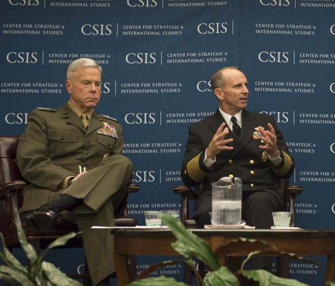 Greenert and Amos Talk Future of Navy and Marine Corps