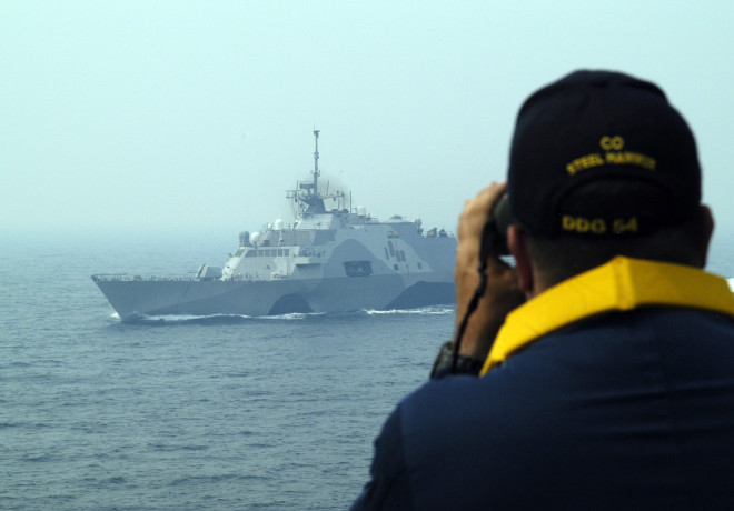 Navy Officials Single Out Freedom Generator Woes