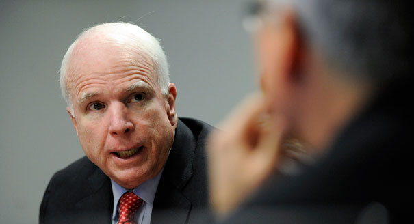 Opinion: McCain Wrong on Syria