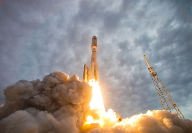 Navy's Next Generation Communications Satellite Launches Amidst Murky Future