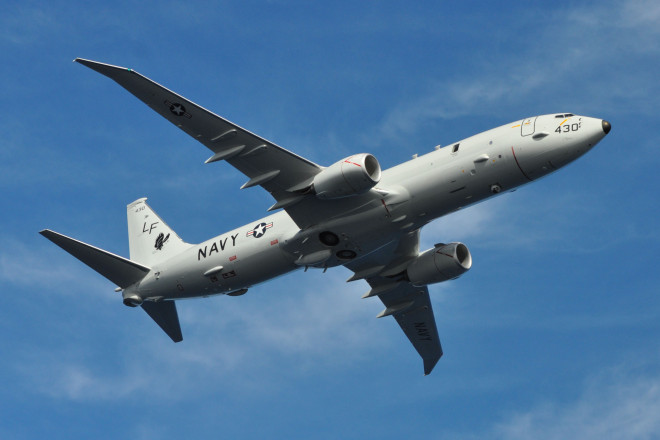 Chinese Fighter Buzzes U.S. Navy Surveillance Plane, Pentagon Upset