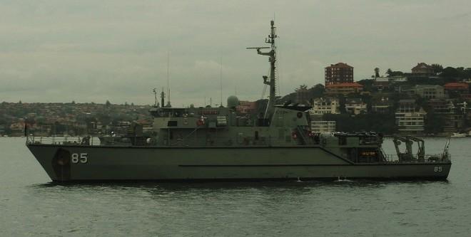 Aussie Minehunter Finds Lost U.S. Bombs