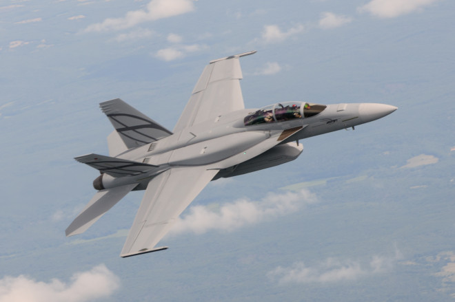 Boeing Pitches Advanced Super Hornet