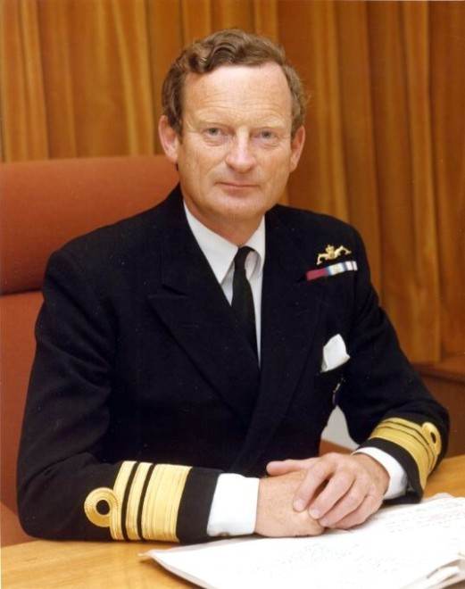 "Royal Navy Admiral John ""Sandy"" Woodward: A Tribute"