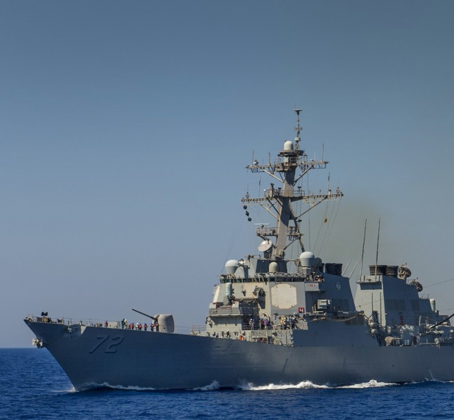 U.S. and U.K. Move Ships Closer to Syria