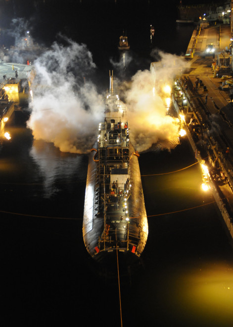 Navy to Decommission Fire Damaged USS Miami Today