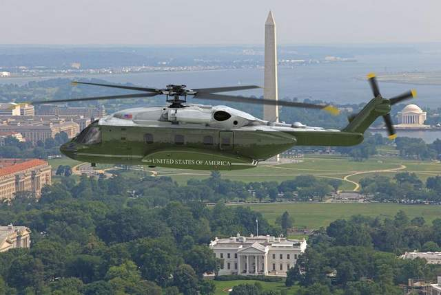 Report: Likely Just One Bidder for Presidential Helo