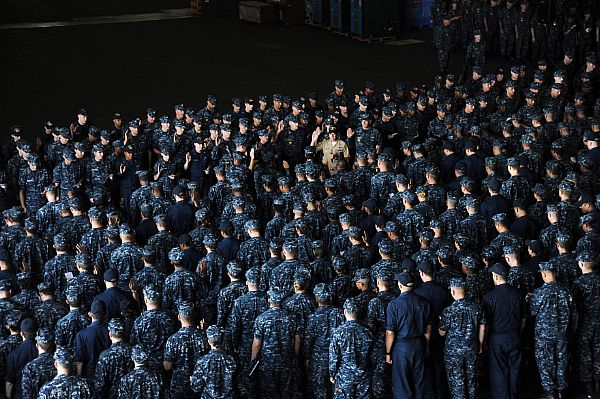 Need for More Personnel in the Navy Reserves is Small