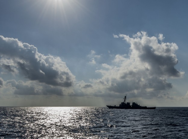 USS Barry (DDG 52) is underway in the Mediterranean Sea on June 16, 2013. US Navy Photo