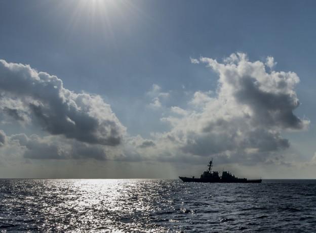 USS Barry (DDG 52) is underway in the Mediterranean Sea on June 16, 2013. US Navy Photo