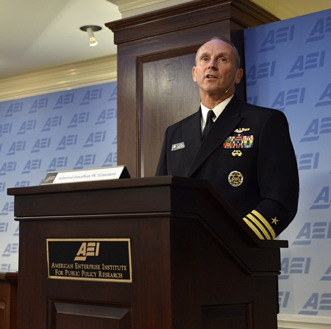 CNO: Navy Will Need More Funds if Syria Standoff Extends into October