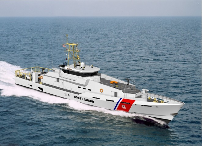 Coast Guard Buys Six More Fast Response Cutters