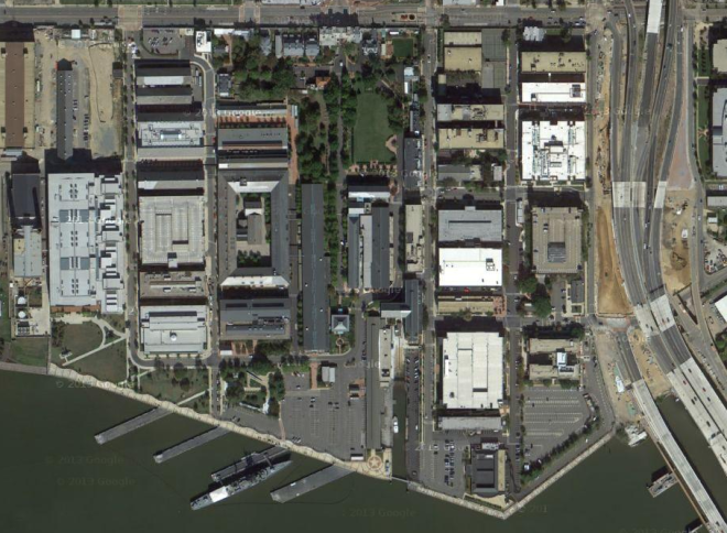 Navy Issues $6.4 Million Contract to fix Navy Yard Shooting Scene