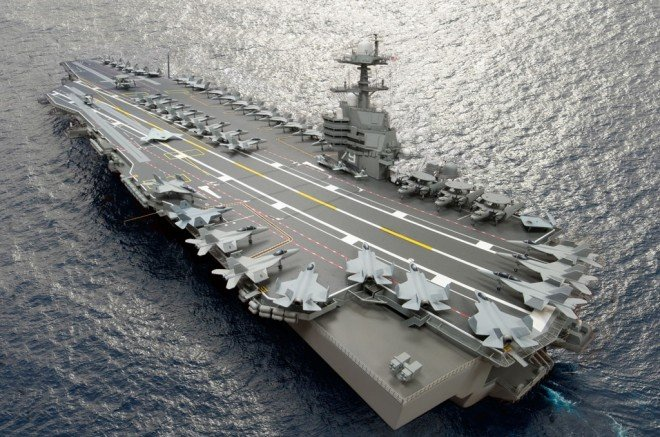 Navy: Despite Cost Overruns Ford Carriers are Built for Affordability