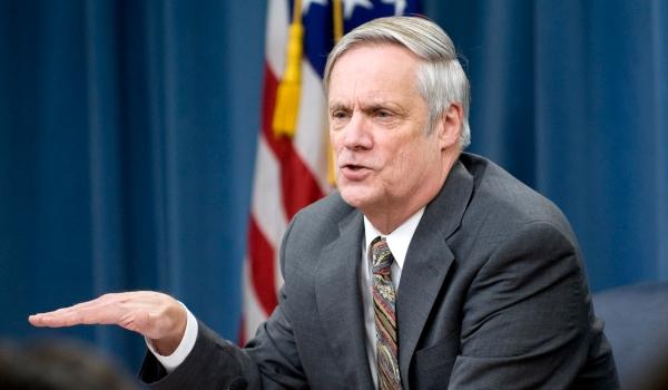 Pentagon comptroller Robert Hale