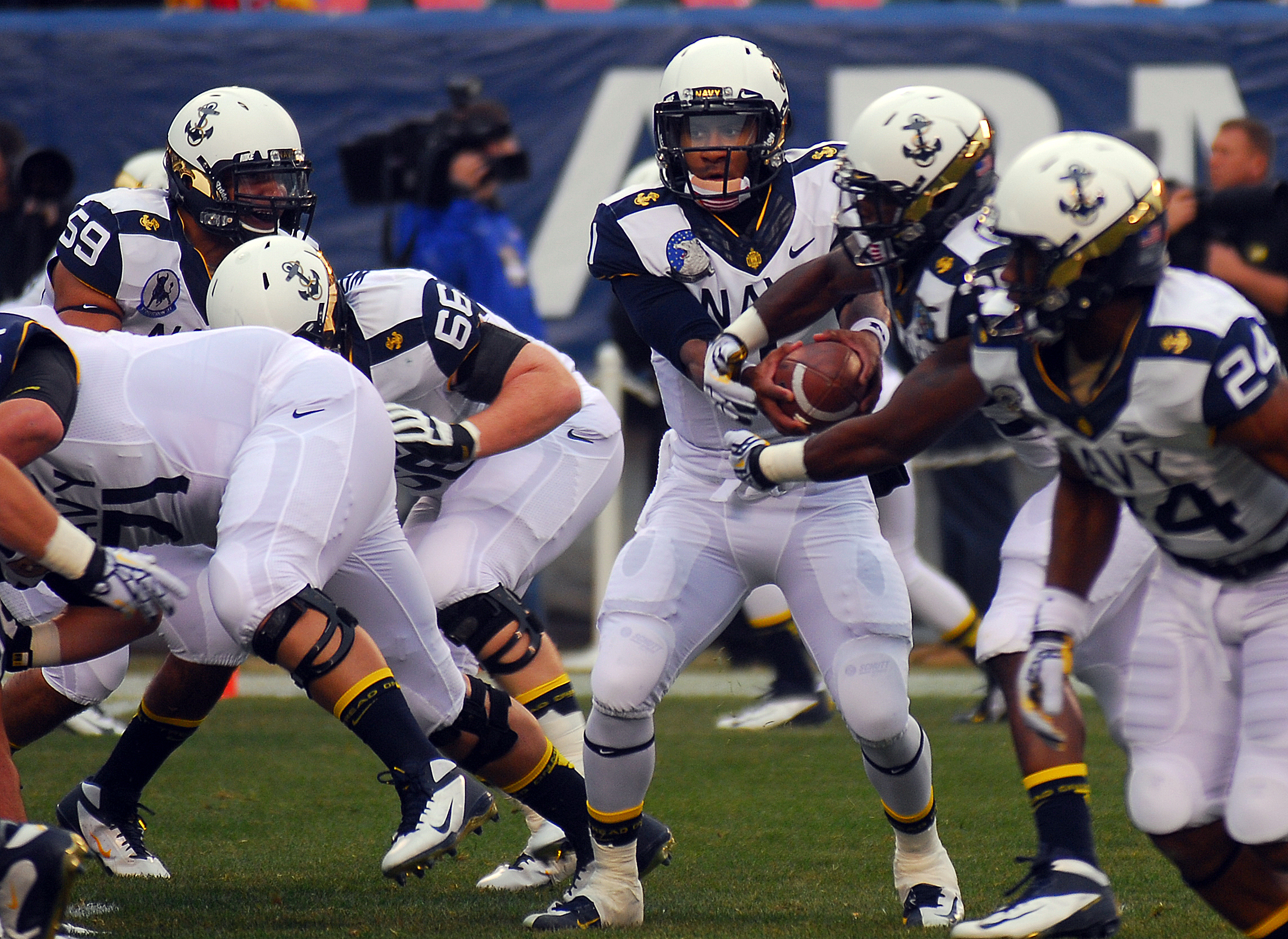 shutdown navy air force football game back on usni news