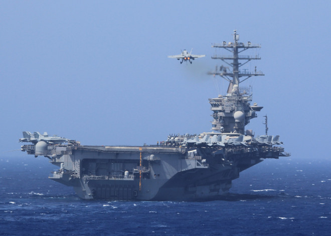 Nimitz Leaves Red Sea