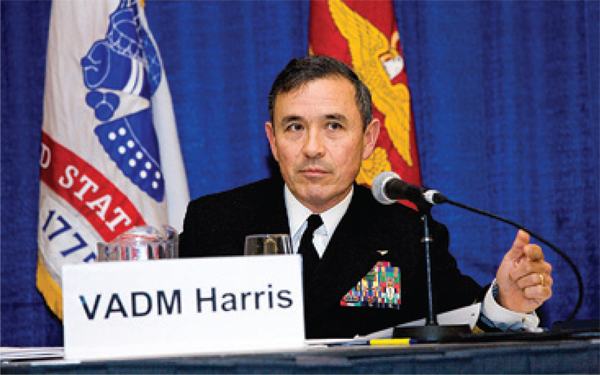 Vice Adm. Harry Harris, Jr. US Navy Photo