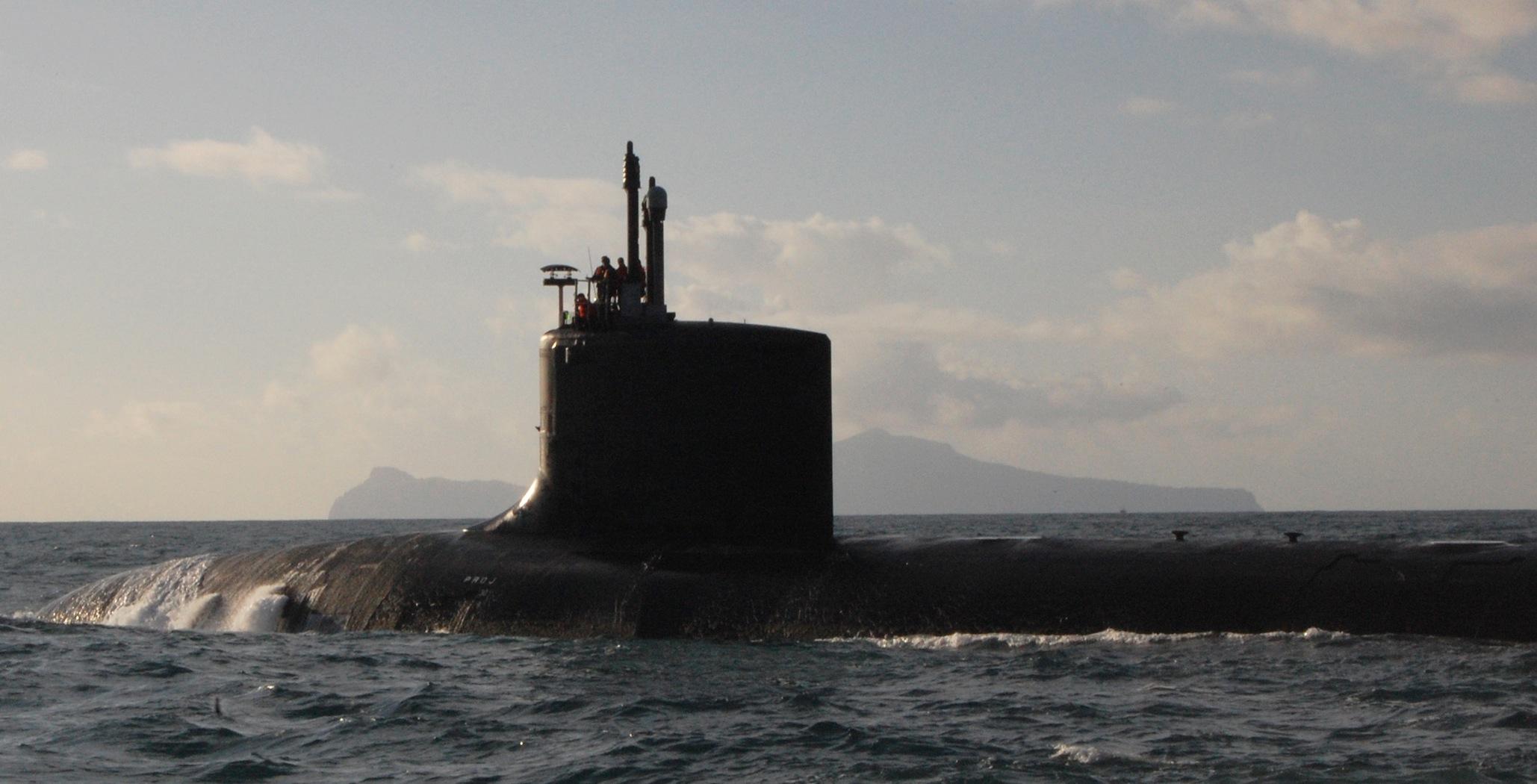 USS Virginia (SSN-774) in 2010.