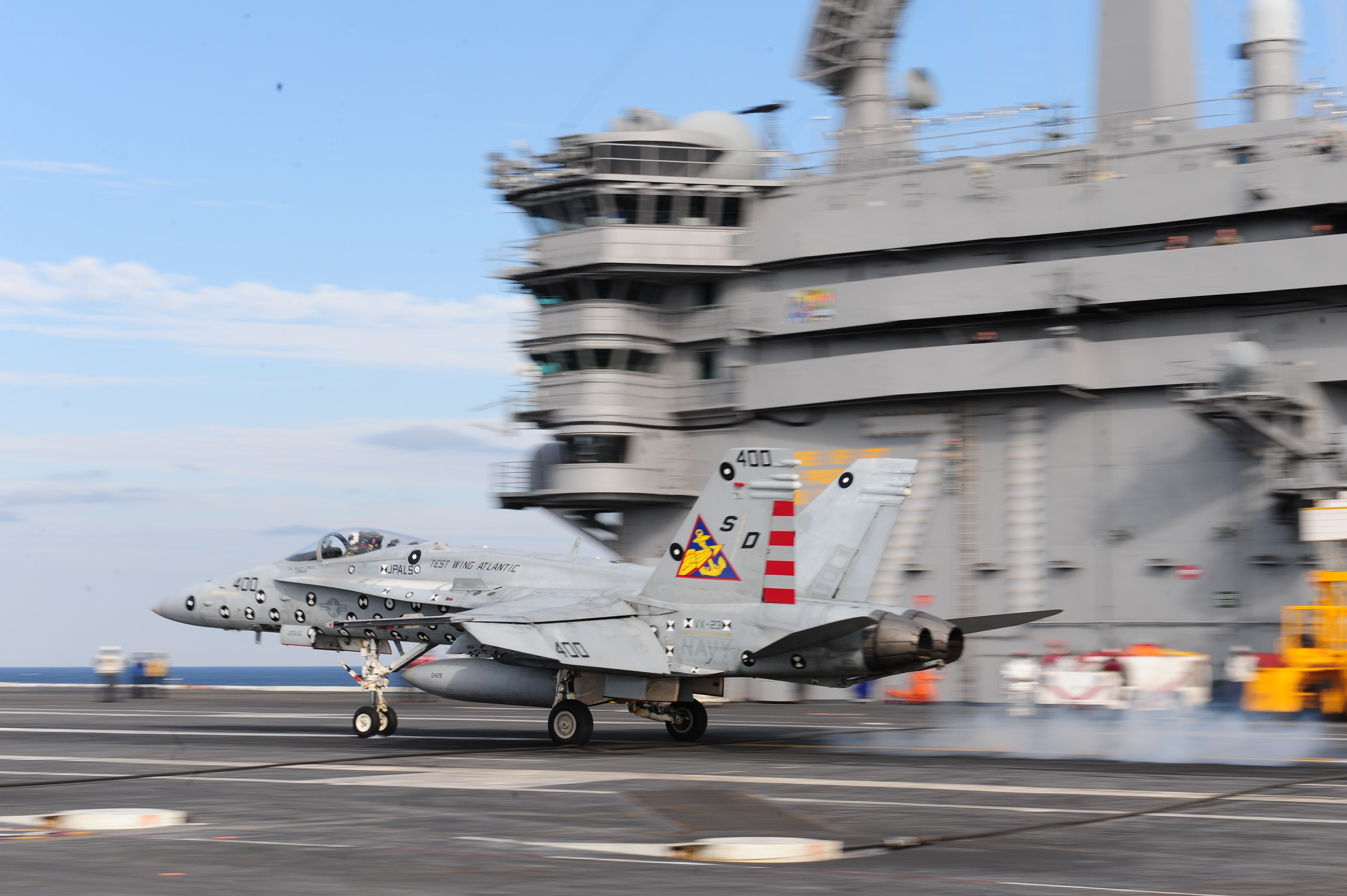 Navy Completes Initial Development of New Carrier Landing ...