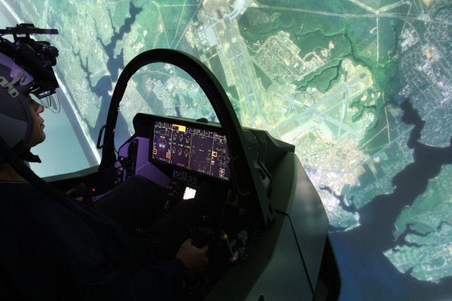 Lockheed Installs F-35 Sims at New Training Site